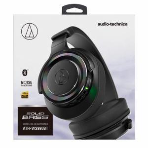 オーディオテクニカ ATH-WS990BT-BK Bluetooth対応ワイヤレスヘッドホン ブラック