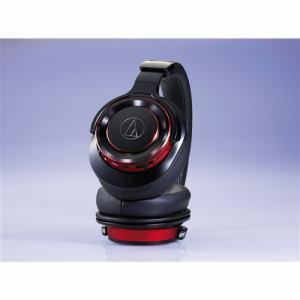 オーディオテクニカ ATH-WS990BT-BRD Bluetooth対応ワイヤレスヘッドホン ブラックレッド