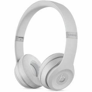 Beats by Dr.Dre(ビーツ バイ ドクタードレ) MR3T2PA/A オンイヤーヘッドホン 「Solo 3 Wireless」 マットシルバー