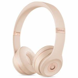 Beats by Dr.Dre(ビーツ バイ ドクタードレ) MR3Y2PA/A オンイヤーヘッドホン 「Solo 3 Wireless」 マットゴールド