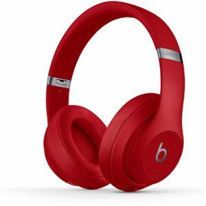 Beats by Dr.Dre(ビーツ バイ ドクタードレ) MQD02PA/A オーバーイヤーヘッドホン 「Beats Studio3 Wireless」 レッド