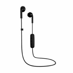 Happy Plugs EARBUD-PLUS-WIRELESS-BLACK7885 ファッショナブルワイヤレスイヤホン 「EARBUD PLUS WIRELESS」 ブラック