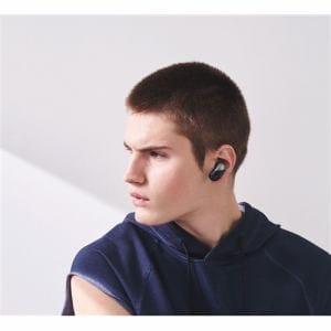 ソニー WF-SP700N-B ワイヤレスノイズキャンセリングステレオヘッドセット ブラック