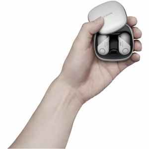ソニー WF-SP700N-W ワイヤレスノイズキャンセリングステレオヘッドセット ホワイト