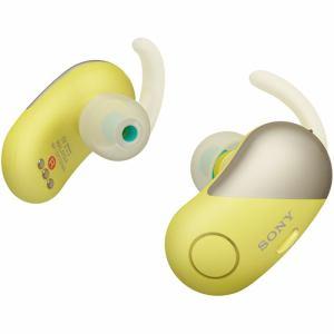 ソニー WF-SP700N-Y ワイヤレスノイズキャンセリングステレオヘッドセット イエロー