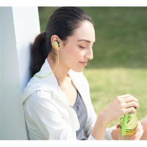 ヘッドセット ソニー    WI-SP600N-Y ワイヤレスノイズキャンセリングステレオヘッドセット イエロー