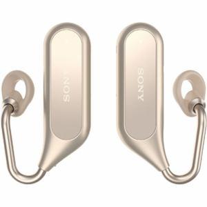 ソニー XEA20-N ワイヤレスオープンイヤーステレオヘッドセット 「Xperia Ear Duo」 ゴールド