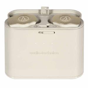 オーディオテクニカ ATH-CKS7TW-CG Bluetooth完全ワイヤレスヘッドホン 左右独立型 シャンパンゴールド