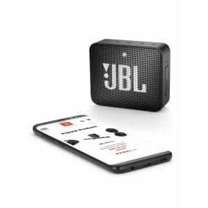 スピーカー JBL ジェイビーエル Bluetooth  JBLGO2BLK 防水対応ポータブルBluetoothスピーカー 「GO 2(ゴー2)」 ブラック