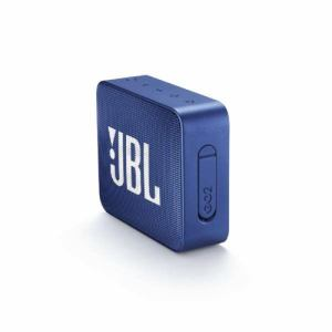 【テレワークにもおすすめ】 JBL GO2 Bluetoothスピーカー IPX7防水/ポータブル/パッシブラジエーター搭載 ブルー JBLGO2BLU