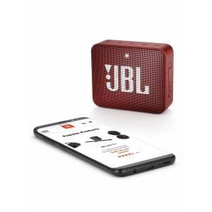 スピーカー JBL ジェイビーエル Bluetooth  JBLGO2RED 防水対応ポータブルBluetoothスピーカー 「GO 2(ゴー2)」 レッド