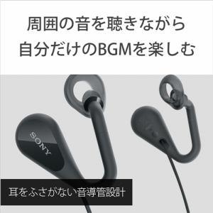 ヘッドセット ソニー    STH40DJPB オープンイヤーステレオヘッドセット ブラック