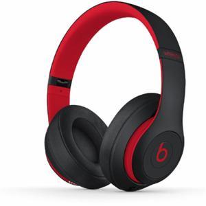 Beats by Dr.Dre(ビーツ バイ ドクタードレ) MRQ82PA/A オーバーイヤーヘッドフォン 「Studio3 Wireless」 レジスタンス・ブラックレッド
