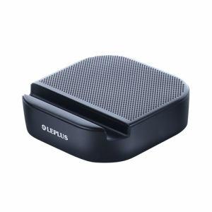 MSソリューションズ Bluetoothワイヤレススピーカー「STAND TUBE」 ブラック LP-SPBT07BK LP-SPBT07BK