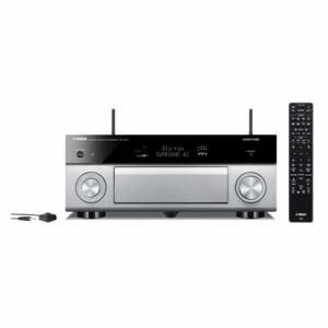 ヤマハ RX-A1080H AVアンプ ハイレゾ対応/Bluetooth対応/Wi-Fi対応/ワイドFM対応/5.1.2ch/DolbyAtmos対応 チタン