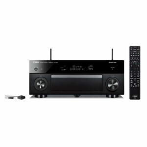 ヤマハ RX-A1080B AVアンプ ハイレゾ対応/Bluetooth対応/Wi-Fi対応/ワイドFM対応/5.1.2ch/DolbyAtmos対応 ブラック