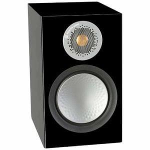 モニターオーディオ 50-HGBK 2ウェイ ブックシェルフスピーカー SILVER (ペア) ハイグロスブラック