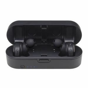 オーディオテクニカ ATH-CKR7TW-BK フルワイヤレス Bluetoothヘッドホン ブラック