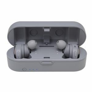 オーディオテクニカ ATH-CKR7TW-GY フルワイヤレス Bluetoothヘッドホン グレー