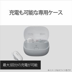 ソニー WF-SP900BM メモリ付き完全ワイヤレスヘッドホン  4GB ブラック
