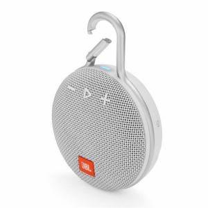JBL JBLCLIP3WHT ウォータープルーフ対応Bluetoothスピーカー ホワイト