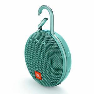 JBL JBLCLIP3TEAL ウォータープルーフ対応Bluetoothスピーカー ティール