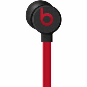Beats by Dr.Dre(ビーツ バイ ドクタードレ) MUFQ2PA/A urBeats3 インイヤーヘッドフォン 3.5 mmプラグ リモコン・マイク対応 ブラックレッド
