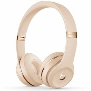 Beats by Dr.Dre(ビーツ バイ ドクタードレ) MUH42PA/A Beats Solo3 Wireless オンイヤーヘッドフォン サテンゴールド