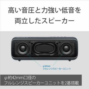ソニー SRS-XB22 B ワイヤレススピーカー   B