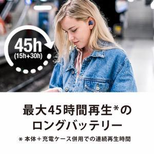 オーディオテクニカ ATH-CKS5TWBK ワイヤレスヘッドホン ブラック