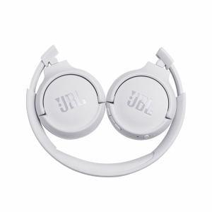 ヘッドホン JBL ジェイビーエル Bluetooth  TUNE 500BT Bluetoothオンイヤーヘッドホン ホワイト JBLT500BTWHT
