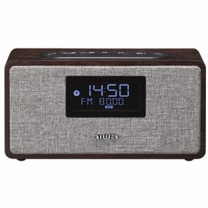 アイワ FR-BD20 クロック&FMラジオ付Bluetoothスピーカー