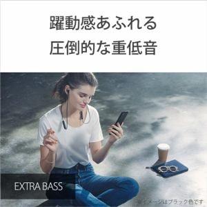 ヘッドセット ソニー    WI-XB400 LZ ワイヤレスステレオヘッドセット ソニーEXTRA BASSシリーズヘッドホン L