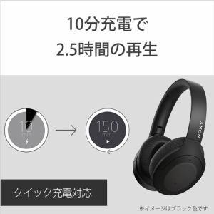 ソニー WH-H910N GM ワイヤレスノイズキャンセリング アッシュグリーン