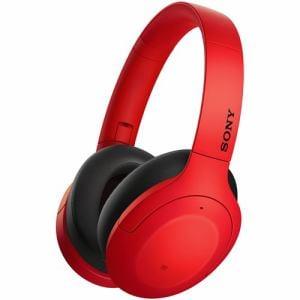 ソニー WH-H910N RM ワイヤレスノイズキャンセリング   レッド