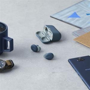 ヘッドセット ソニー    WF-H800 LM ワイヤレスステレオヘッドセット ブルー