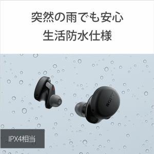 ソニー WF-XB700 BZ ワイヤレスステレオヘッドセット B ワイヤレスイヤホン