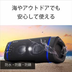 ソニー SRS-XB33 BC ワイヤレスポータブルスピーカー ブラック Bluetooth