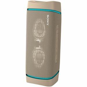 ソニー SRS-XB33 CC ワイヤレスポータブルスピーカー ベージュ Bluetooth