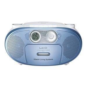 HITACHI CDラジオカセットレコーダー (ブルー) CK-5Y A
