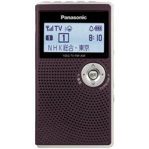 パナソニック ワンセグTV(音声)/AM/FMラジオ RF-ND50TV-T