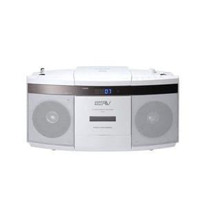 日立 ヤマダ電機オリジナルモデル CDラジオカセットレコーダー ホワイト CK-7Y-W