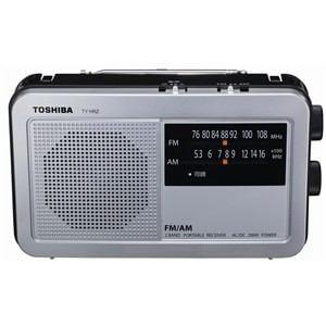 東芝 AM/FMラジオ シルバー TY-HR2-S