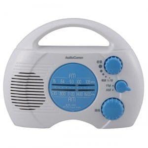オーム電機 AM/FM シャワーラジオ RAD-S768Z