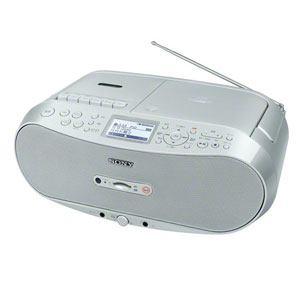 ソニー CDラジオカセットコーダー (シルバー) CFD-RS501-C