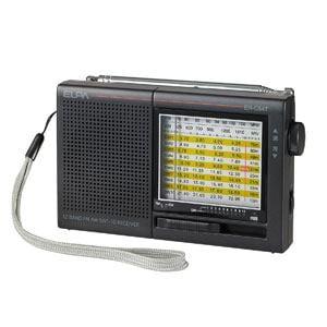 ELPA AM/FM/SW ハンディラジオ ER-C54T