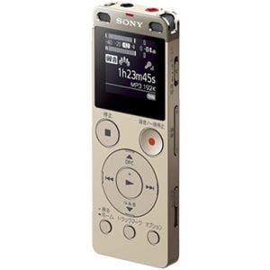 ソニー リニアPCM対応ICレコーダー 4GB(ゴールド) ICD-UX560FNC
