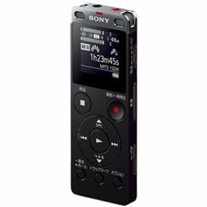 ソニー リニアPCM対応ICレコーダー 8GB(ブラック) ICD-UX565FBC