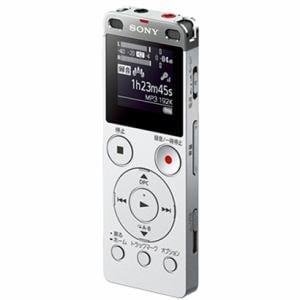 ソニー リニアPCM対応ICレコーダー 8GB(シルバー) ICD-UX565FSC