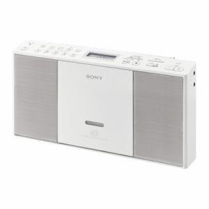 ソニー ワイドFM対応 CDラジカセ(ホワイト) ZS-E30-W